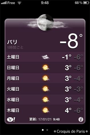 ☆ 週末は マイナス8度でした。う〜〜〜寒っ ☆