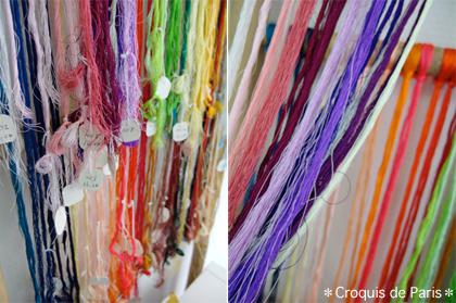 5 絹糸が沢山 fil de soi