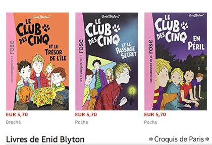 3 Enid Blyton Le Club des Cinq