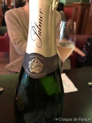 13今回一のシャンパン