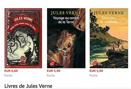 8 Jules Verne の本