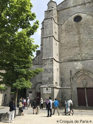 8ジャンヌダルクがシャルル7世とランスの後に立ち寄った教会