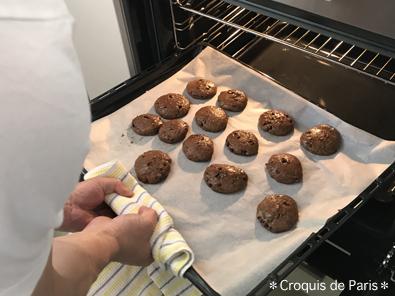 12クッキー作り
