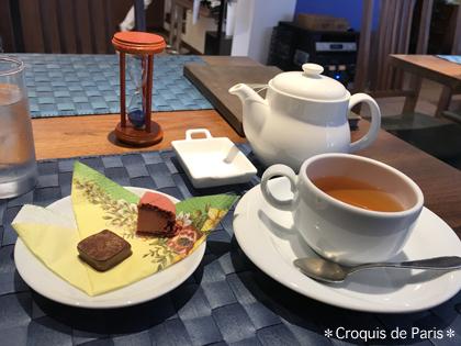 10お薦めのチョコと紅茶