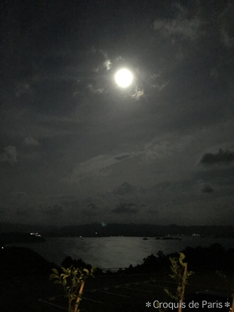 11ほぼまん丸のお月様