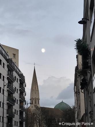 10夕方の月