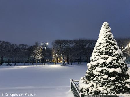 7クリスマスが戻って来た様な景色