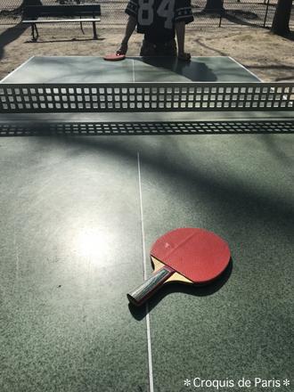 9気が向いたら卓球、笑