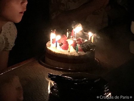 9末っ子の姪っ子と母の誕生日