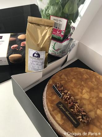5 バジル ジャスミンティ マカロン ケーキ