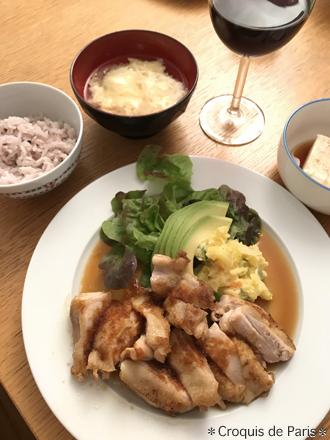 14 旦那さん作の晩ご飯