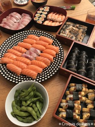 6 Sちゃん流石の握り寿司