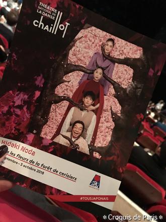 6 今日は野田秀樹さんの舞台「贋作 桜の森の満開の下」を見に