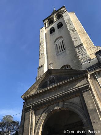 9 サンジェルマンデプレ教会