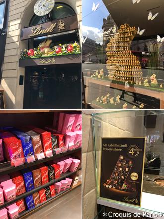 4リンツ チョコレート専門店