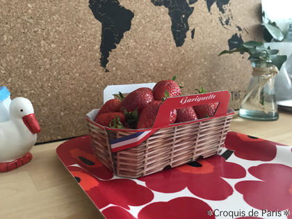 5クレソンにイチゴに