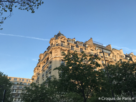 10パリの街もおはよう
