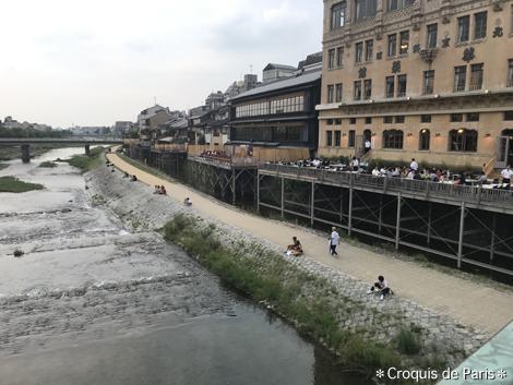 12阪急電車が止まってたので京阪 ついでに鴨川