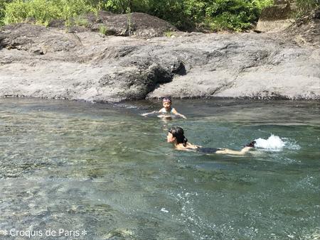 10なんとか泳げるんだね^^;