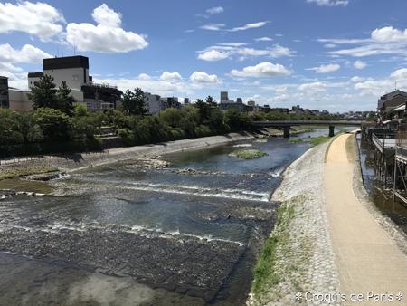 10今年は鴨川を2度眺める事が出来ました