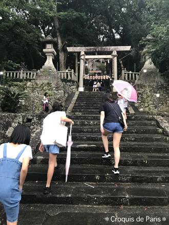 1地元の神社の夏祭り
