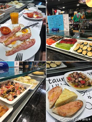 5サンタ・カテリーナ市場で朝ご飯ユニベール