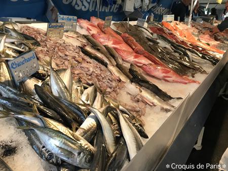 3マルシェのお魚