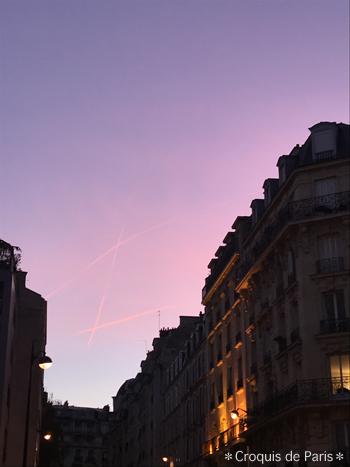 1久しぶりに撮ったパリの空